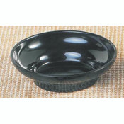 "8 OZ, 4 3/4"" SALSA DISH, BLACK"