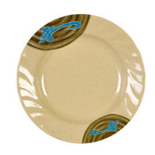 """10 1/2"""" CURVED RIM PLATE, WEI"""