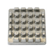 """PUSHER BLOCK FOR FRENCH FRY CUTTER 1/2"""" BLADE"""