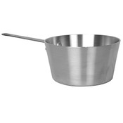 2 3/4 QT ALUMINUM SAUCE PAN, MIRROR FINISH