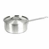 2 QT 18/8 STAINLESS STEEL SAUCE PAN