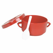 72OZ, RICE CONTAINER W/ HANDLE, SPOON INCLUDED