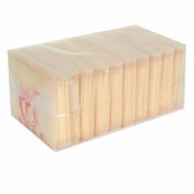 BAMBOO TOOTH PICKS, 10 BAG/PACK