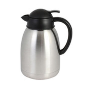 1.9 lt/64 OZ Coffee Server, S/S, Push Button Top