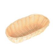 """PLASTIC BREAD CONTAINER OBLONG  8 1/4"""" X 4 1/4"""" X 2"""""""