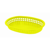 "10 3/4"" OBLONG BASKET, YELLOW"