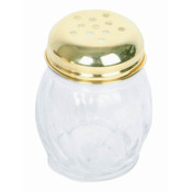 6 OZ GOLD PERF SWIRL CHEESE SHAKER
