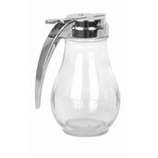 14 OZ SYRUP DISPENSER, CAST ZINC TOP