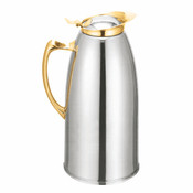33 OZ  STAINLESS STEEL LINED CARAFE, GOLD