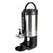 5.7 lt/1.5 Gallon Gravity Flow Dispenser, Bru-Thru Lid, Removable Base