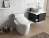 Aura Bidet Toilet Seat, Elongated White