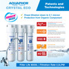 Aquaphor Crystal ECO Under Counter Water Filtration System UF Hollow Fiber Membrane