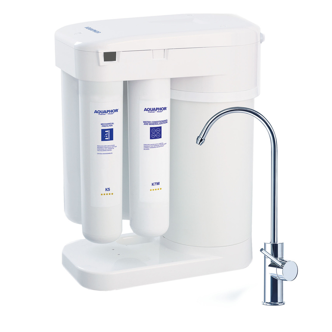 aquaphor dwm 101 compact ro reverse osmosis water filter system. Black Bedroom Furniture Sets. Home Design Ideas