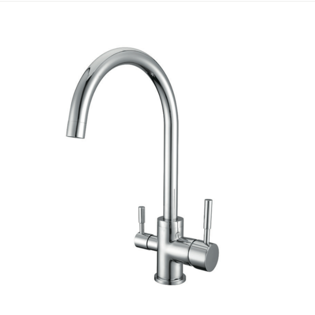 waterlux wl302 round elegant 3 way kitchen faucet for ro system - Reverse Osmosis Faucet
