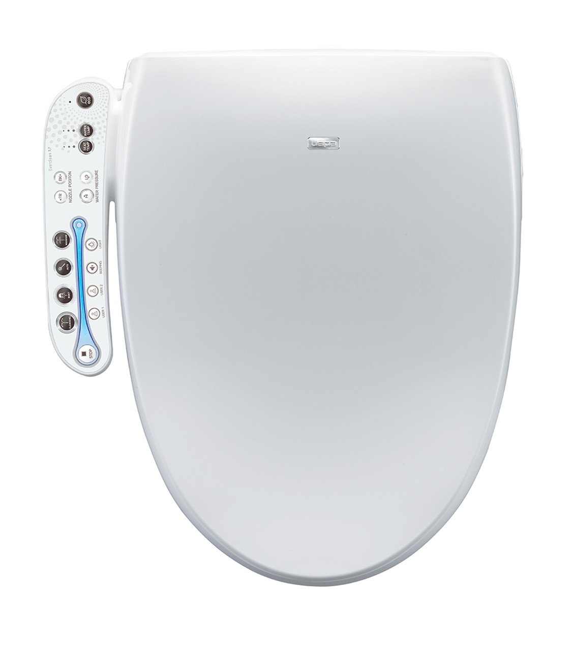japanese heated toilet seat. Aura Bidet Toilet Seat  Elongated White Seats Made in Japan and Korea