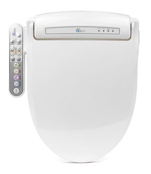 Presitige Bidet Toilet Seat, Round White