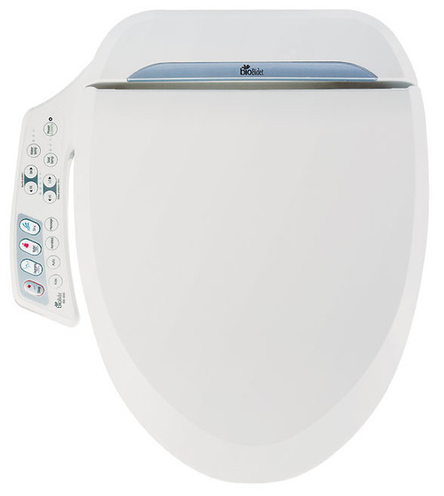 Ultimate Bidet Toilet Seat, Round White