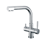 WaterLux WL-301 Round Deluxe 3 Way Kitchen Faucet for RO System