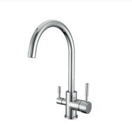 WaterLux WL-302 Round Elegant 3 Way Kitchen Faucet for RO System