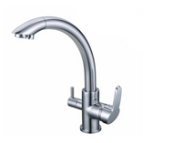 WaterLux WL-304 Elegant Three Way Hot Cold Kitchen Faucet for RO