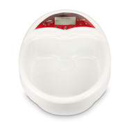 Red & White Ionic Detox Foot Bath with Basin IGX-5C