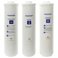 Aquaphor RO-101 Replacement Filters Set K5 K2 K7