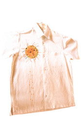 Hand Decorated Shirt - Linen