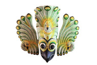 Gurulu Raksha - Bird Devil Mask - Green