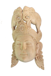 "Mask of Tusker Woman - ""Gaja Kanya"""