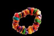 Coloured Sea-Stone Handmade Bracelets - Set of 2