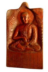 Arahant Sivali Amulet - Wooden