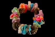 Coloured Handmade Seashells Bracelet  - Set of 2