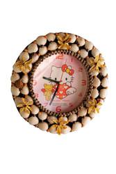 Seashells made Small Clock