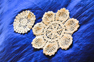 Doily Cup and Plate Placemat Combo