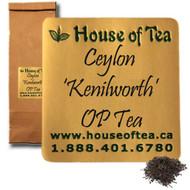 """Ceylon """"Kenilworth"""" OP Tea"""