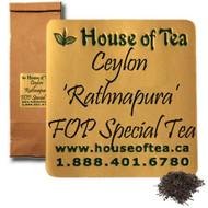 Ceylon 'Rathnapura' FOP Special Tea