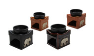 Handmade Oil Burner ACL-725 - Set of 4 Colours