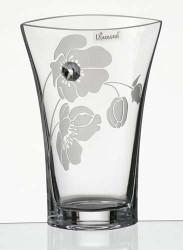 20 cm Elegant Thick Unique Hand Blown Glass Flower Vase with Swarovski Crystal and Flower Decoration…