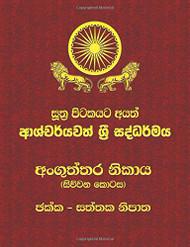 Anguththara Nikaya - Part 4 - අංගුත්තර නිකාය (සිව්වන කොටස ) ඡක්ක - සත්තක නිපාත