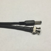 15ft Plenum Siamese RG59/U BNC Coaxial Cable with 18/2 Power Cable