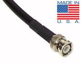 25ft Precision 50 ohm RG58/U BNC Cables - Belden 9201