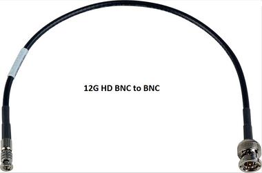 AV-Cables 12G HD SDI 4K High Density BNC to BNC - 4855R Mini RG59 Cable (SDI-12G-BNC-HDBNC)