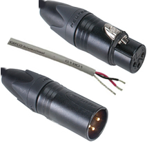 Plenum Series XLR Mic and Stage Audio Cables