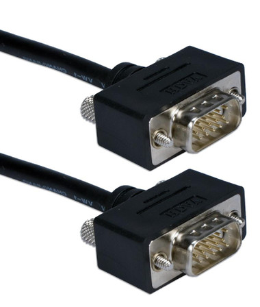 1.5ft UltraThin VGA HD15 Cable Male to Male
