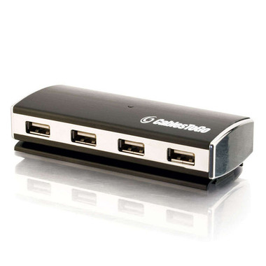 7-Port USB 2.0 Aluminum Hub