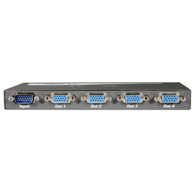 4-Port UXGA VGA Monitor Splitter/Extender (Male Input) (29551)