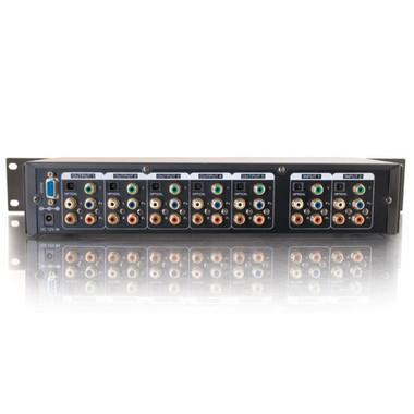 3x5 Component Video + Audio + Digital Audio Matrix Selector Switch (40973)