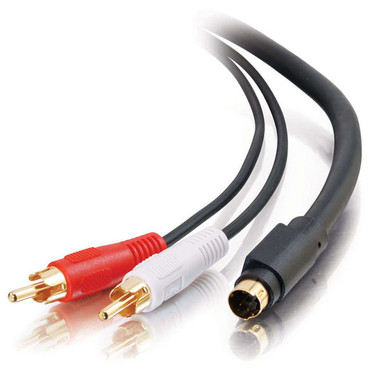 12ft S-Video + RCA Stereo Audio Cable (02310)
