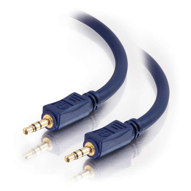 25ft Velocity 3.5mm Stereo Audio Cable Male to Male (40604)