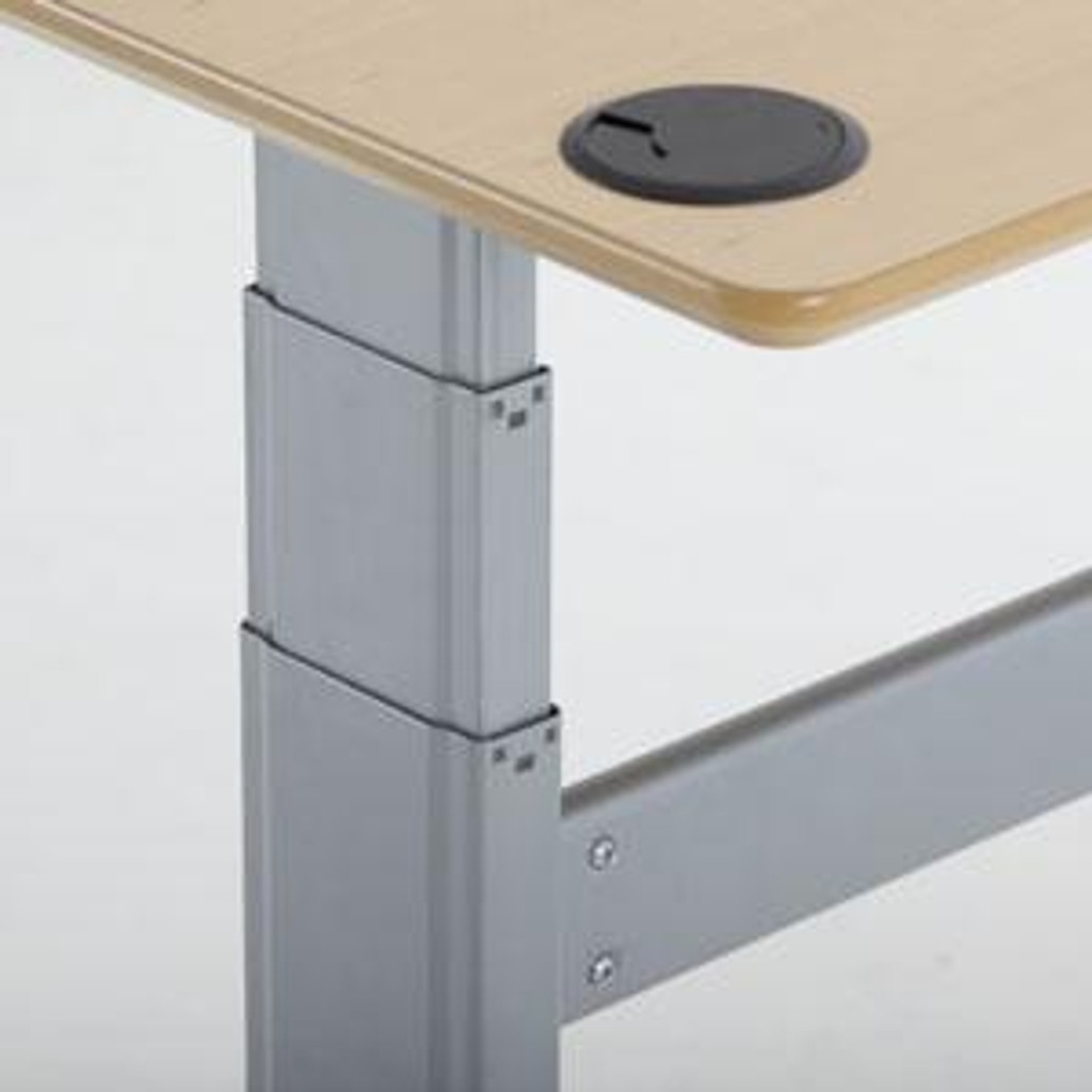 501-27 Electric Height Adjustable Rectangle Desk Leg